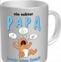 Tasse Ein echter Papa braucht keinen Schlaf